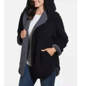 Weatherproof Ladies' Reversible Cozy Sherpa Hooded